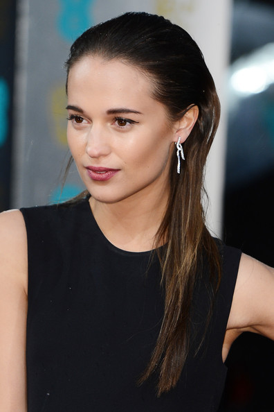 More Pics of Alicia Vikander Long Straight Cut (4 of 11) - Long Straight Cut Lookbook - StyleBistro