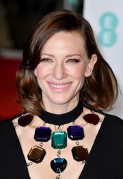Cate Blanchett opted for a classic lob when she attended the EE British Academy Film Awards.