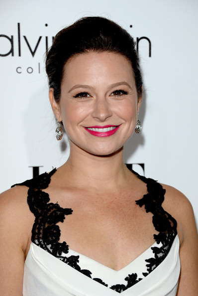 More Pics of Katie Lowes Pink Lipstick (4 of 8) - Pink Lipstick Lookbook - StyleBistro