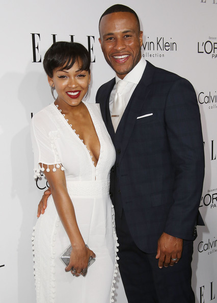 More Pics of Meagan Good Short Cut With Bangs (1 of 16) - Meagan Good Lookbook - StyleBistro