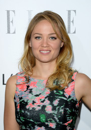 Erika Christensen looked totally feminine with this curly 'do and floral dress combo at the Elle Women in Hollywood celebration.
