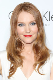 Darby Stanchfield looked stunning at the Elle Women in Hollywood celebration with her bright red lips and lovely 'do.