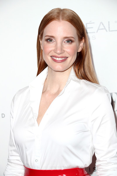 More Pics of Jessica Chastain Evening Sandals (5 of 7) - Jessica Chastain Lookbook - StyleBistro