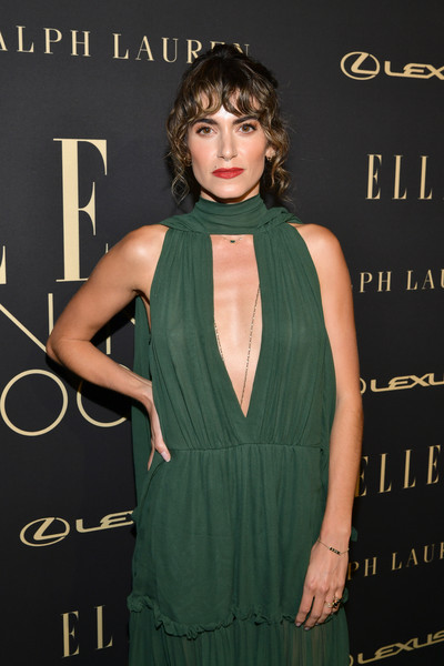 More Pics of Nikki Reed Curly Updo (1 of 3) - Curly Updo Lookbook - StyleBistro [clothing,dress,premiere,hairstyle,fashion,cocktail dress,shoulder,carpet,little black dress,fashion design,lexus - arrivals,26th annual women in hollywood celebration,ralph lauren,nikki reed,los angeles,beverly hills,california,the four seasons hotel,elle,lexus]