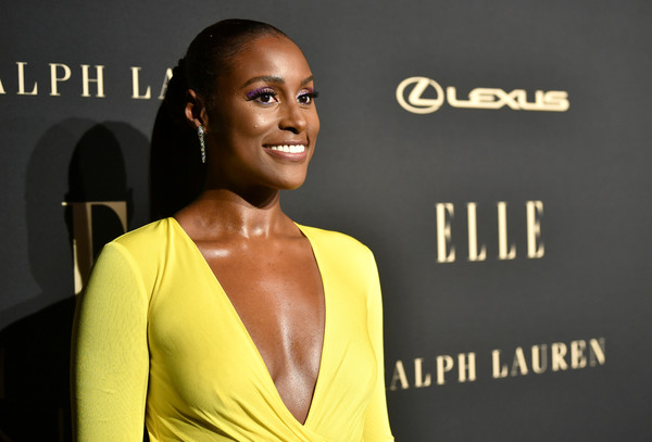 More Pics of Issa Rae Evening Dress (4 of 8) - Issa Rae Lookbook - StyleBistro [beauty,hairstyle,yellow,fashion,premiere,fashion model,lip,dress,model,ear,lexus - arrivals,26th annual women in hollywood celebration,ralph lauren,issa rae,los angeles,beverly hills,california,the four seasons hotel,elle,lexus]