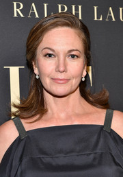 Diane Lane looked lovely wearing this half updo with flipped ends at the 2019 Variety Women in Hollywood celebration.