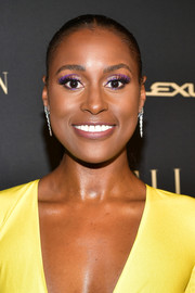 Issa Rae wore her hair in a croydon facelift at the 2019 Elle Women in Hollywood celebration.