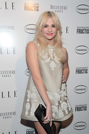 Pixie showed off her embellished day dress while attending the ELLE women in music party.