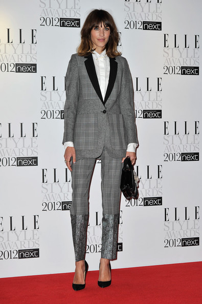 Alexa+Chung in ELLE Style Awards 2012 - Inside Arrivals