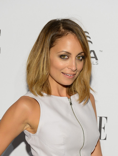 More Pics of Nicole Richie Mid-Length Bob (9 of 14) - Shoulder Length Hairstyles Lookbook - StyleBistro