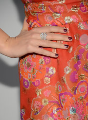 Katherine's oxblood nails were dark and enchanting at the 2013 ELLE Women in Television Celebration.
