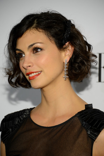 More Pics of Morena Baccarin Red Lipstick (2 of 6) - Morena Baccarin Lookbook - StyleBistro