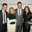 Julie Barry and Joel McHale