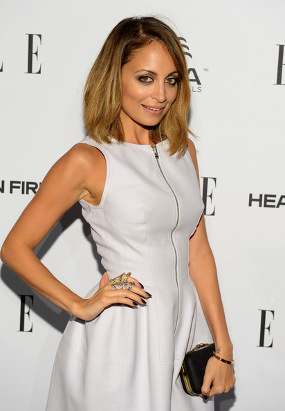 More Pics of Nicole Richie Metallic Eyeshadow (1 of 14) - Nicole Richie Lookbook - StyleBistro