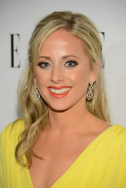 Angie's half-up hairstyle looked serene and elegant at the 2013 ELLE Women in Television Celebration.