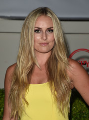 Lindsey Vonn attended the Body at ESPYs pre-party sporting super-long mermaid waves.