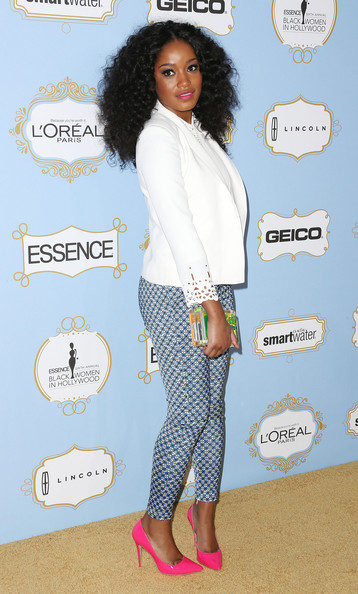 More Pics of Keke Palmer Skinny Pants (3 of 4) - Keke Palmer Lookbook - StyleBistro