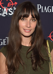 Rebecca Dayan looked sweet at the premiere of 'The East' with her long wavy cut and wispy bangs.