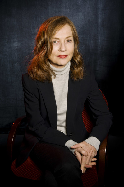 More Pics of Isabelle Huppert Classic Jeans (3 of 10) - Jeans Lookbook - StyleBistro [red,portrait,beauty,sitting,photography,suit,outerwear,formal wear,long hair,portrait photography,portrait,day 3,champaign,illinois,isabelle huppert]