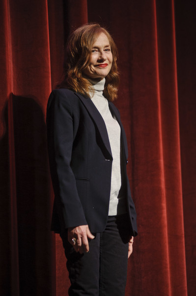 More Pics of Isabelle Huppert Classic Jeans (7 of 10) - Jeans Lookbook - StyleBistro [isabelle huppert,suit,fashion,formal wear,outerwear,performance,blazer,event,tuxedo,long hair,fashion design,champaign,illinois]