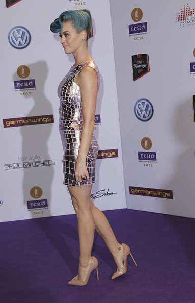 More Pics of Katy Perry Cocktail Dress (1 of 6) - Katy Perry Lookbook - StyleBistro