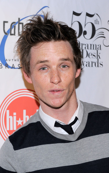 Eddie Redmayne Messy Cut