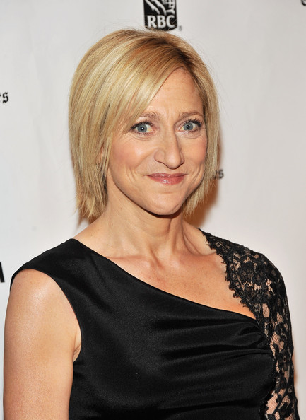 Edie Falco Bob [gotham independent film,hair,hairstyle,face,blond,shoulder,eyebrow,chin,long hair,joint,bangs,edie falco,awards,annual gotham independent film awards,new york city,wall street,ifp,cipriani]