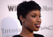 Jennifer Hudson wore a cool and stylish pixie to the Women in Film pre-Oscar cocktail party.