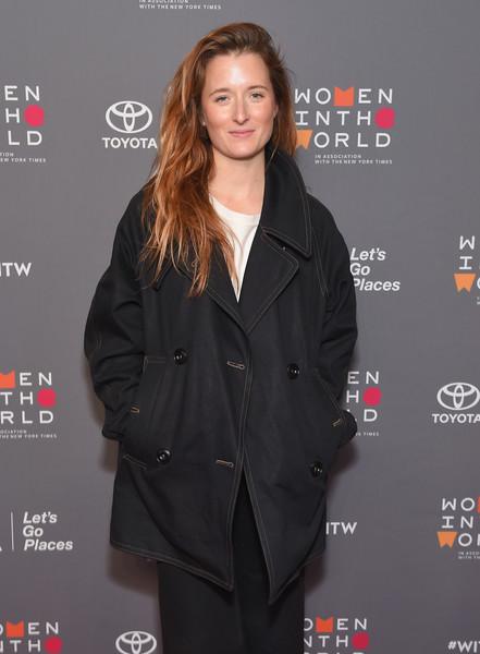 More Pics of Grace Gummer Smoking Slippers (3 of 5) - Flats Lookbook - StyleBistro [eighth annual women in the world summit,grace gummer,hairstyle,outerwear,premiere,suit,formal wear,long hair,event,tuxedo,carpet,brown hair,lincoln center for the performing arts,new york city]