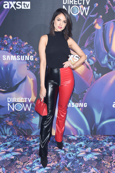 Eiza Gonzalez Leather Pants