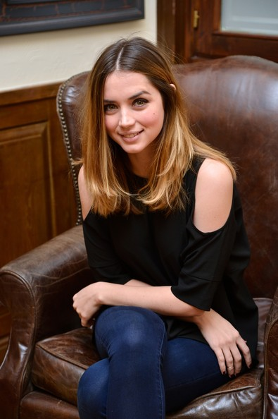 More Pics of Ana de Armas Studded Boots (4 of 26) - Ana de Armas Lookbook - StyleBistro [madrid photocall,hair,sitting,long hair,beauty,brown hair,hairstyle,lady,blond,leg,smile,ana de armas,el callejon,photographers,fim,spanish,madrid,academia de cine]