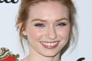 Eleanor Tomlinson Bobby Pinned updo
