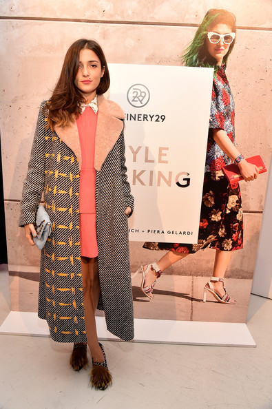 Eleonora Carisi Evening Pumps [clothing,fashion,fashion model,street fashion,fashion design,outerwear,fashion show,dress,footwear,design,eleonora carisi,style stalking,new york city,book launch party,refinery29 style stalking book launch party]