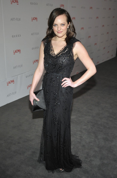 Elisabeth Moss Beaded Dress