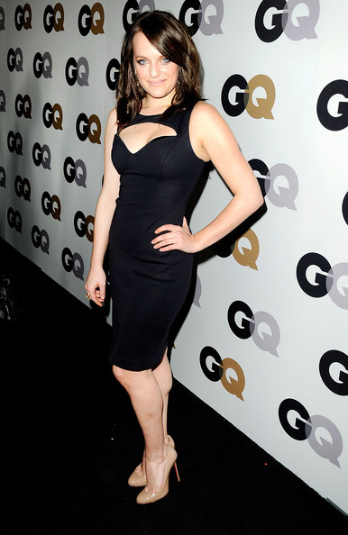 Elisabeth Moss Cutout Dress