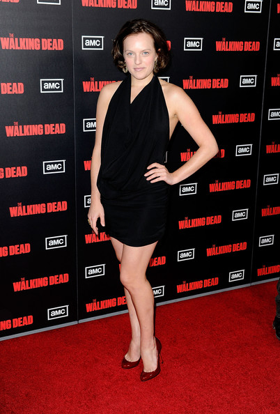 Elisabeth Moss Little Black Dress