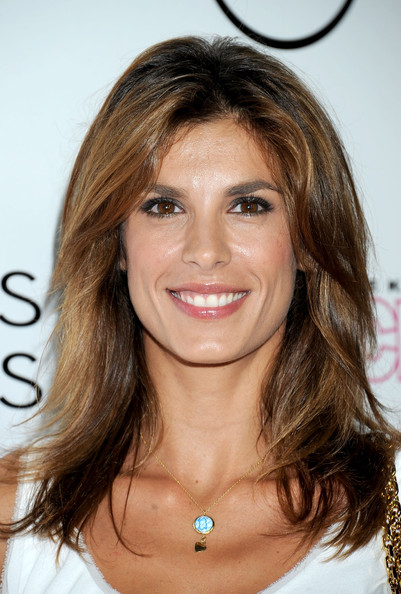 Elisabetta Canalis Medium Wavy Cut [hair,face,hairstyle,eyebrow,brown hair,layered hair,blond,chin,hair coloring,long hair,elisabetta canalis,west hollywood,california,touch weekly,in touch weekly,4th annual icons idols celebration - arrivals,4th annual icons idols celebration]