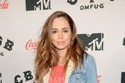 Eliza Dushku Denim Jacket