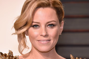Elizabeth Banks Messy Updo