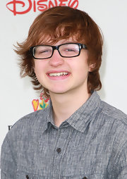 Angus T. Jones rocked a wispy 'do and emo bangs at the A Time for Heroes event.