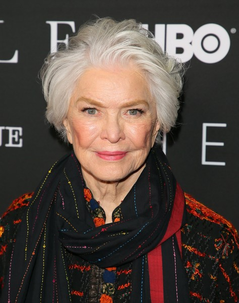 Ellen Burstyn Messy Cut