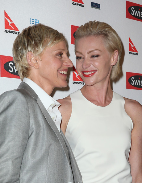 More Pics of Portia de Rossi Cocktail Dress (1 of 30) - Portia de Rossi Lookbook - StyleBistro