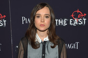 Ellen Page Button Down Shirt