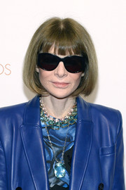 Anna Wintour was stylishly coiffed with her iconic bob, as always, at the 2019 Ellie Awards.