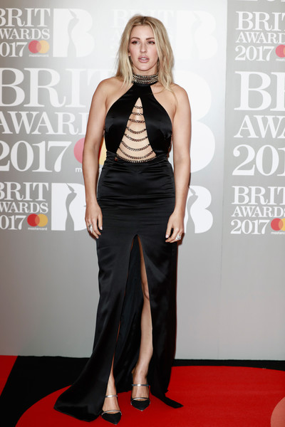 Ellie Goulding Cutout Dress