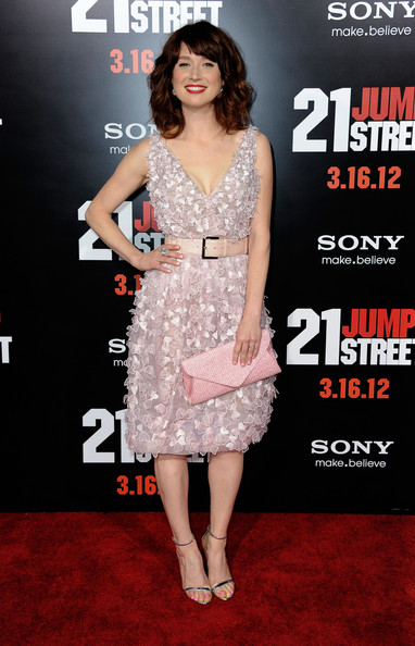 Ellie Kemper Envelope Clutch