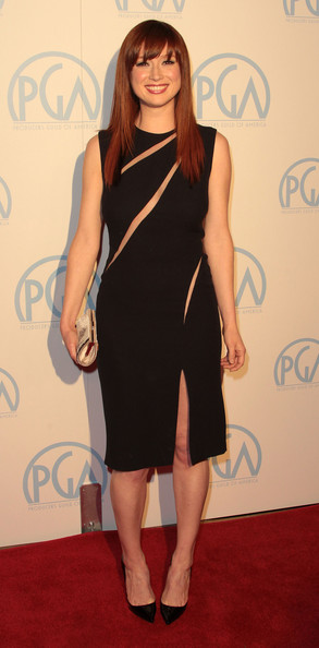 Ellie Kemper Cutout Dress