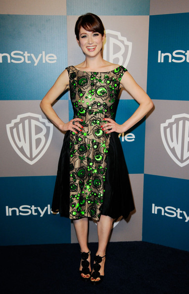 Ellie Kemper Evening Sandals