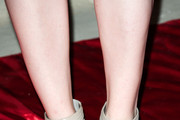 Ellie Kemper  Strappy Sandals