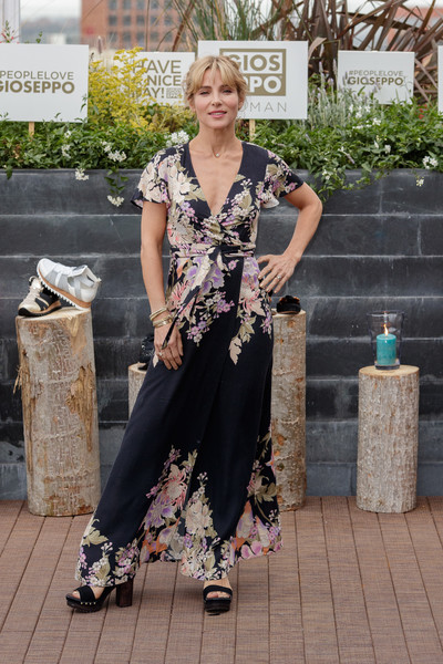 Elsa Pataky Wrap Dress
